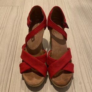 Toms Sofie Strappy Wedges